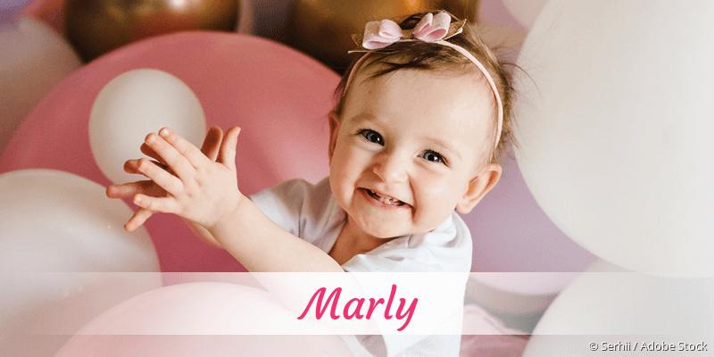 Name Marly als Bild