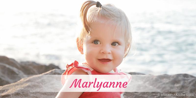 Name Marlyanne als Bild