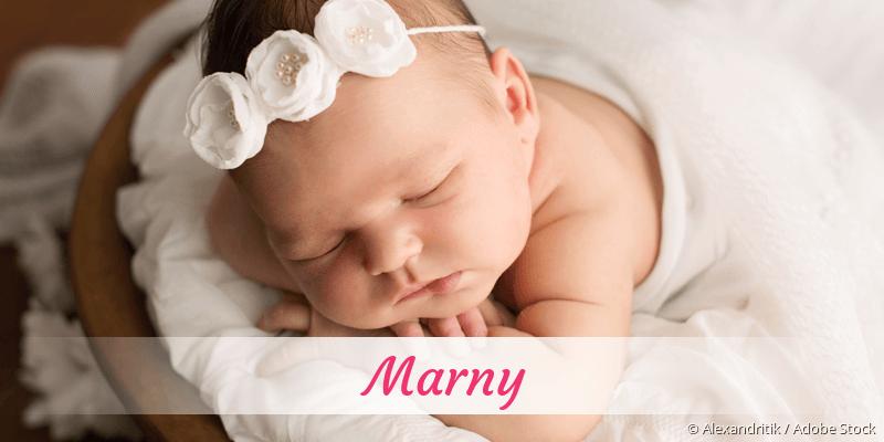 Name Marny als Bild