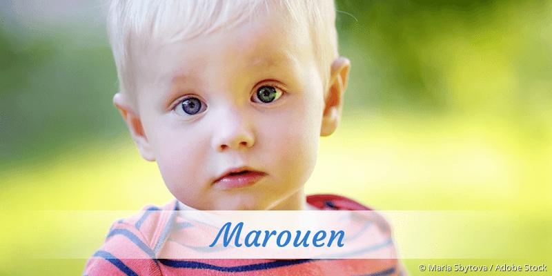 Name Marouen als Bild