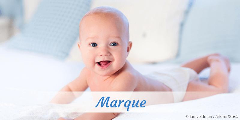 Name Marque als Bild