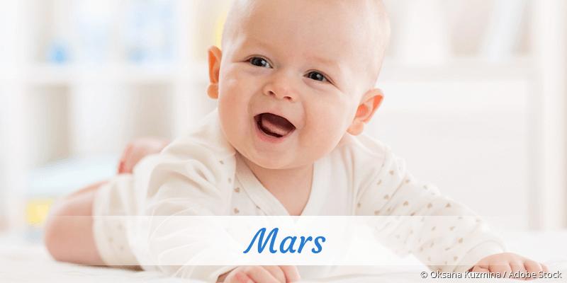 Name Mars als Bild