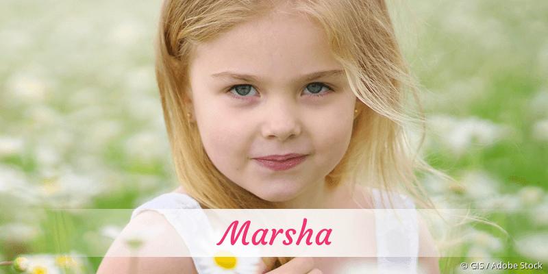 Name Marsha als Bild
