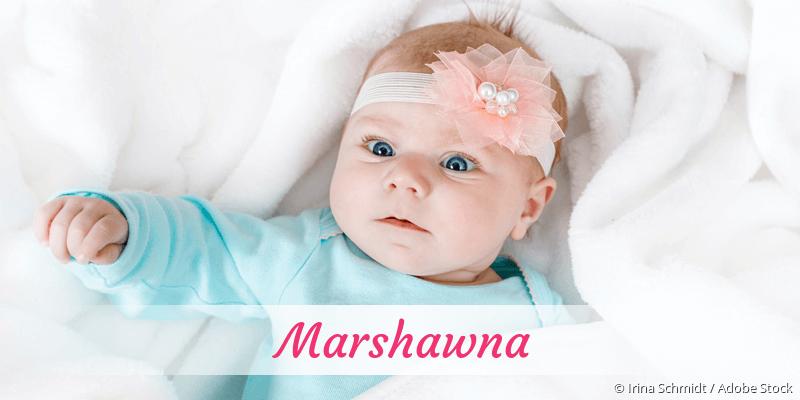Name Marshawna als Bild