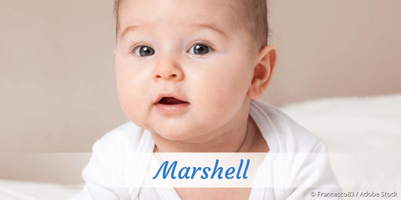 Name Marshell als Bild