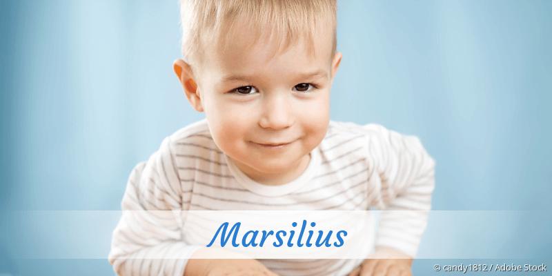 Name Marsilius als Bild