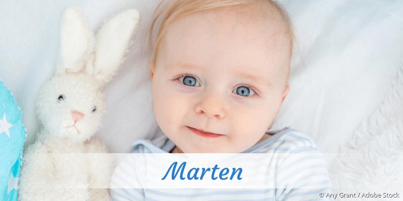 Name Marten als Bild