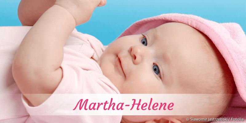 Name Martha-Helene als Bild