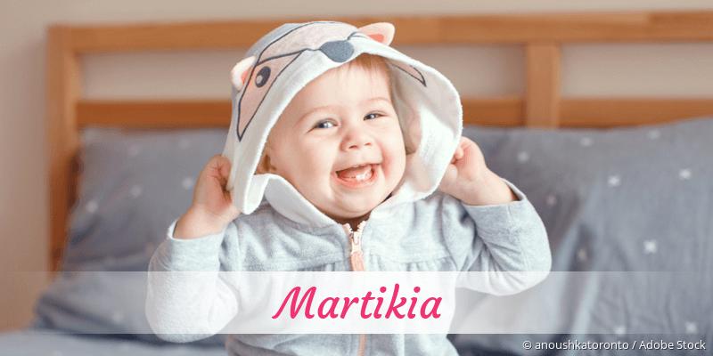 Name Martikia als Bild