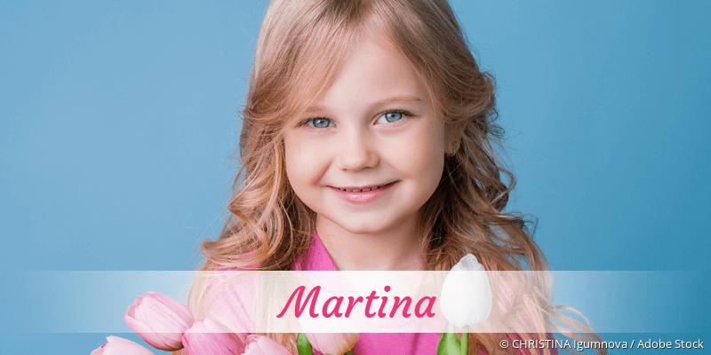 Name Martina als Bild