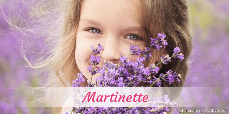 Name Martinette als Bild