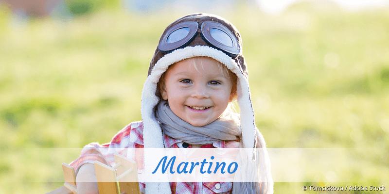 Name Martino als Bild