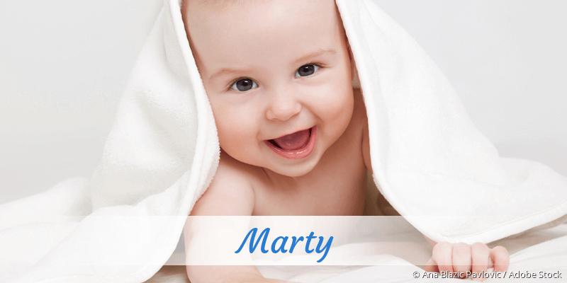 Name Marty als Bild