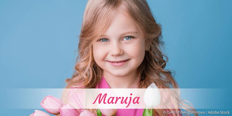 Name Maruja als Bild