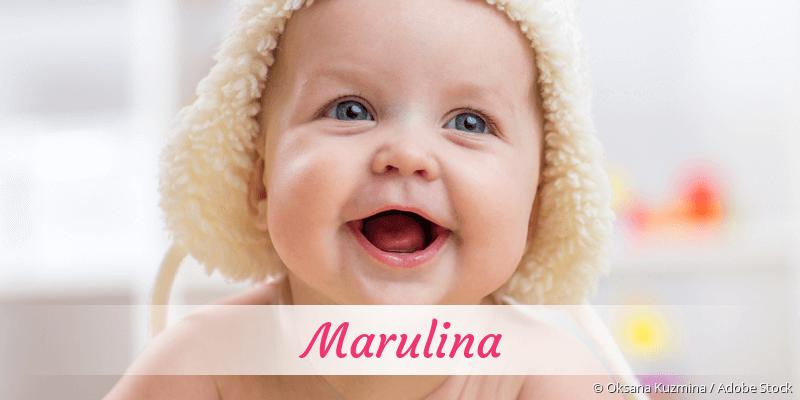 Name Marulina als Bild
