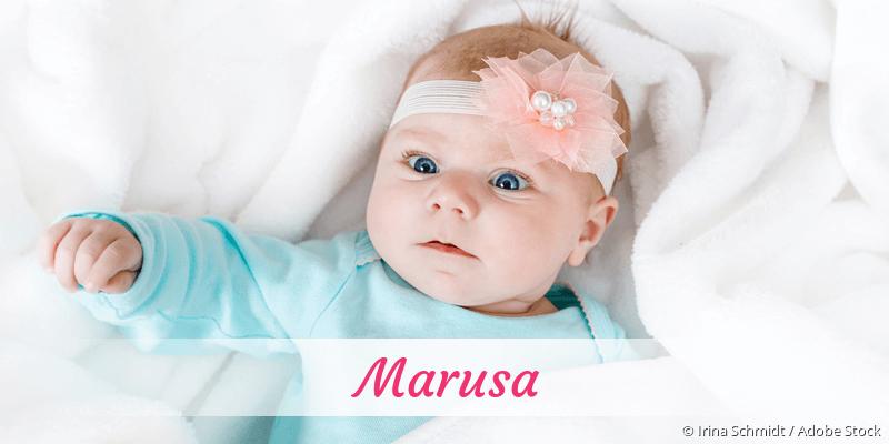 Name Marusa als Bild