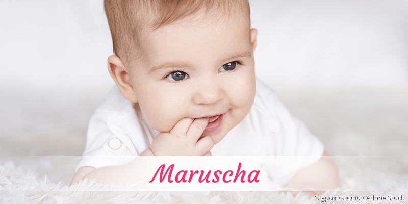 Name Maruscha als Bild