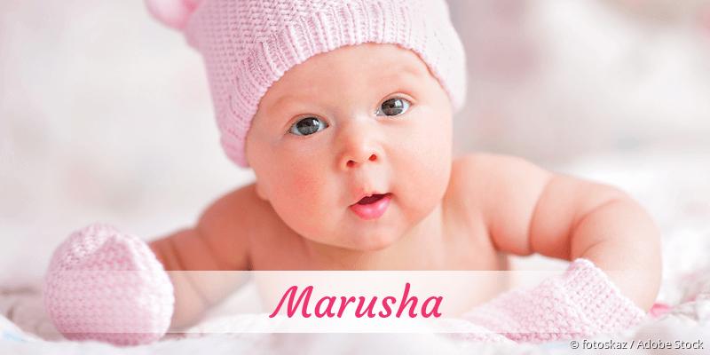 Name Marusha als Bild