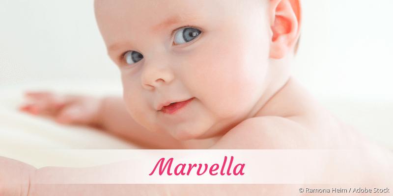 Name Marvella als Bild