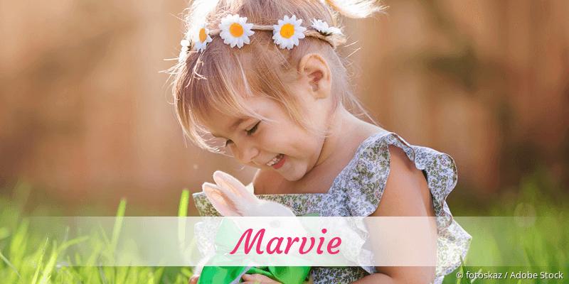 Name Marvie als Bild