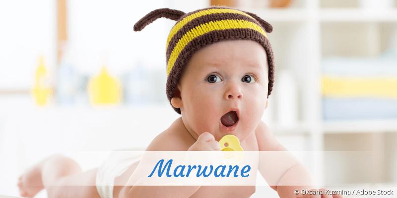 Name Marwane als Bild