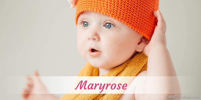 Name Maryrose als Bild