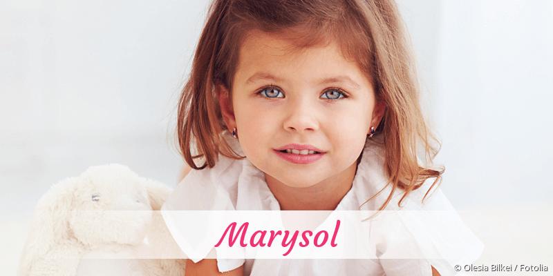 Name Marysol als Bild