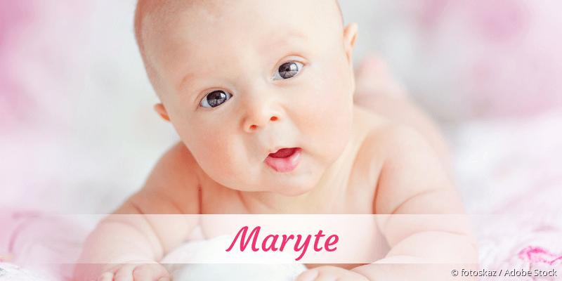 Name Maryte als Bild