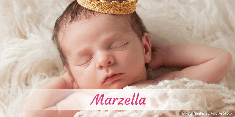 Name Marzella als Bild