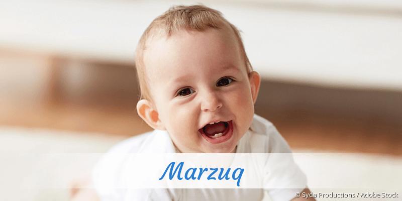Name Marzuq als Bild