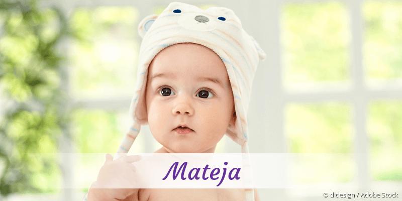 Name Mateja als Bild