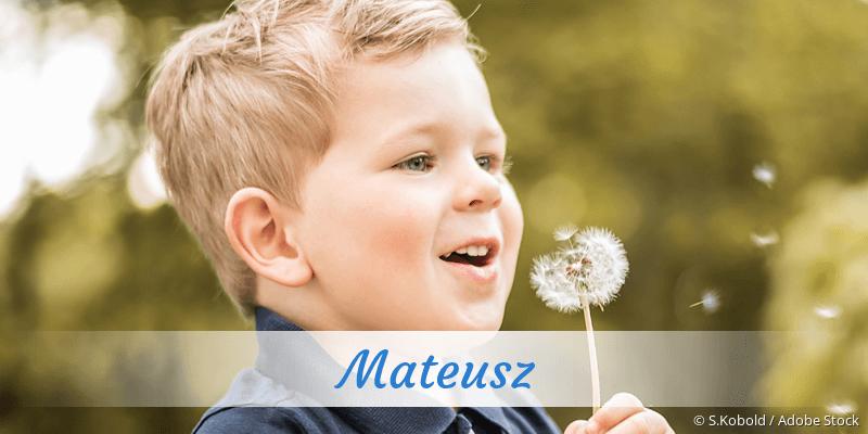 Name Mateusz als Bild