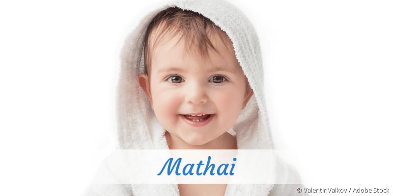 Name Mathai als Bild