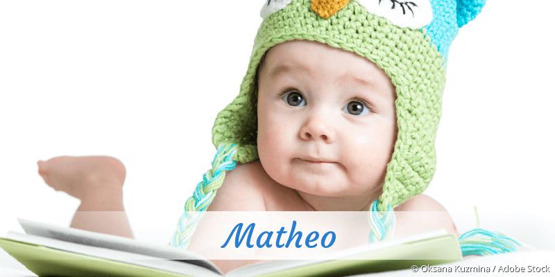Name Matheo als Bild