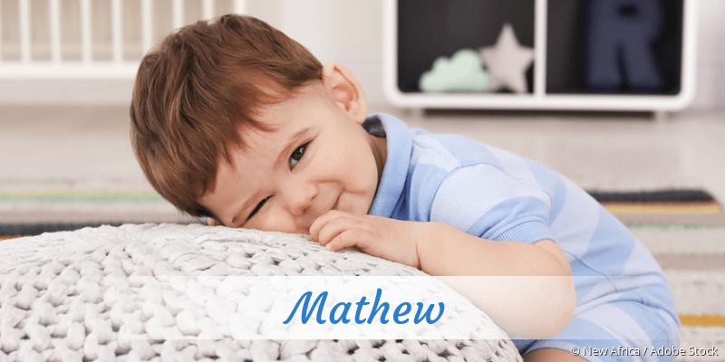 Name Mathew als Bild