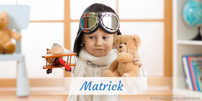 Name Matrick als Bild