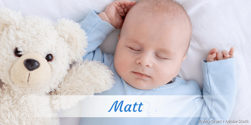 Name Matt als Bild