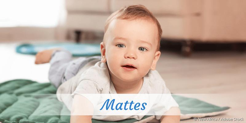 Name Mattes als Bild