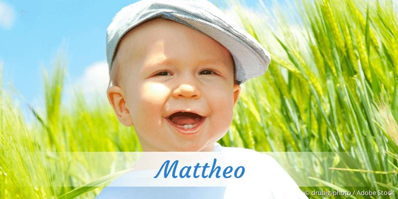 Name Mattheo als Bild