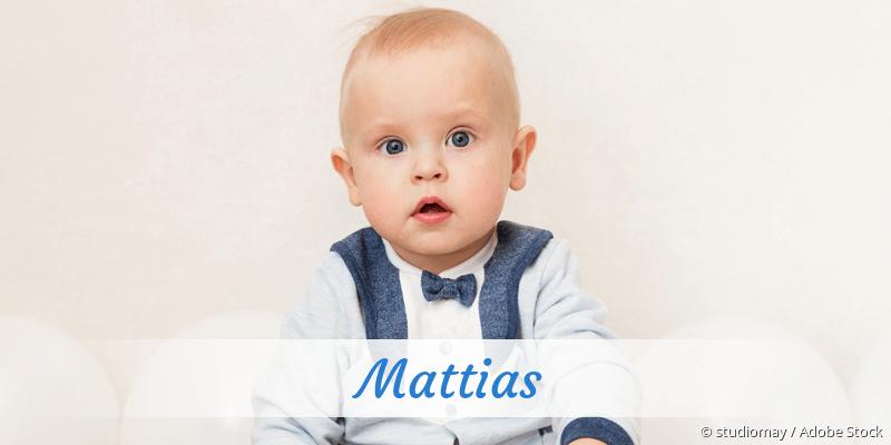 Name Mattias als Bild