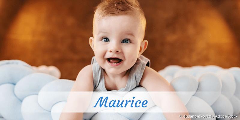 Name Maurice als Bild
