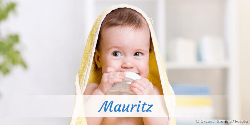 Name Mauritz als Bild