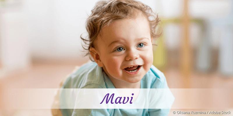 Name Mavi als Bild