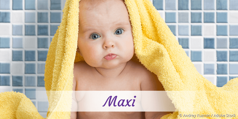Name Maxi als Bild