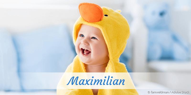 Name Maximilian als Bild