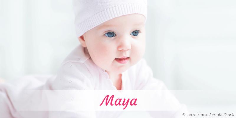 Name Maya als Bild