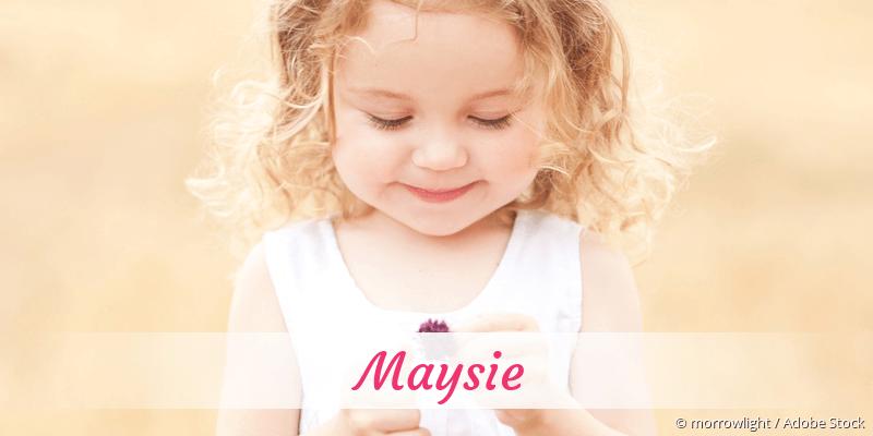 Name Maysie als Bild