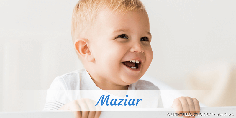 Name Maziar als Bild