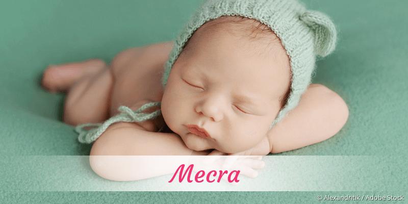 Name Mecra als Bild