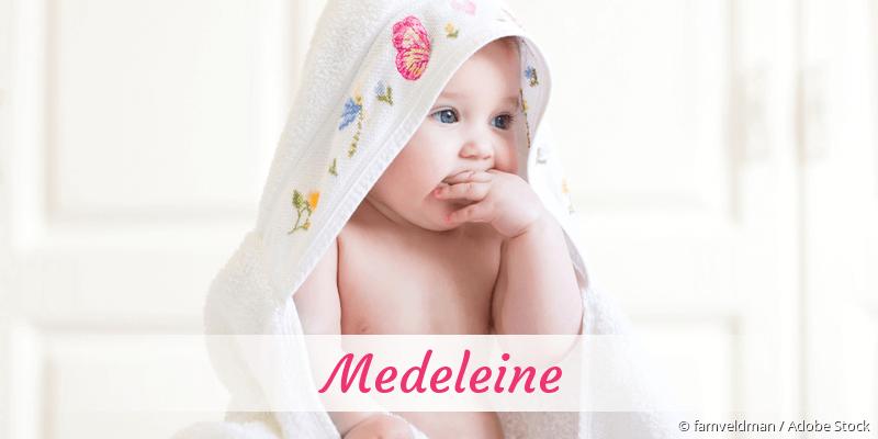 Name Medeleine als Bild